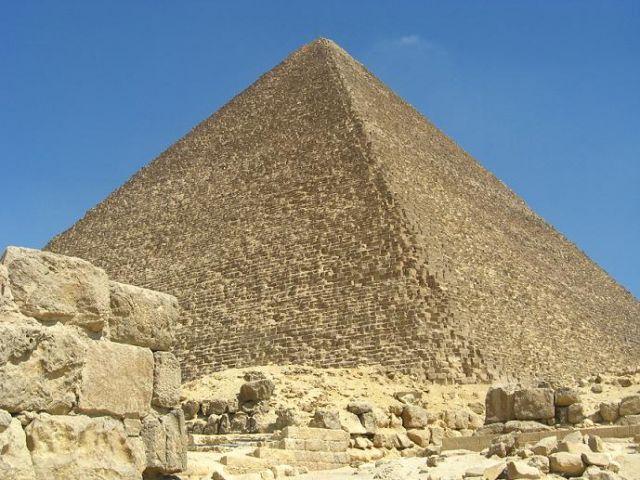 Zdjęcia: Giza, Piramida Cheopsa, EGIPT