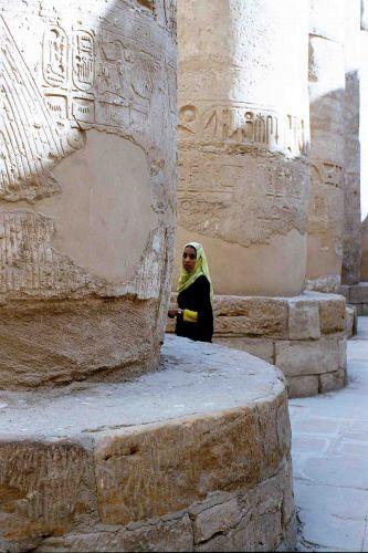 Zdjęcia: świątynia Amona w Karnaku, luxor, zwiedzanie, EGIPT