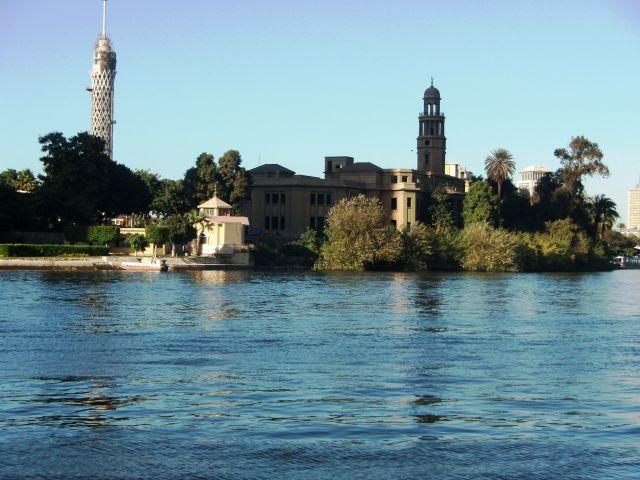 Zdj�cia: nad rzek�, Kair, Nil, EGIPT