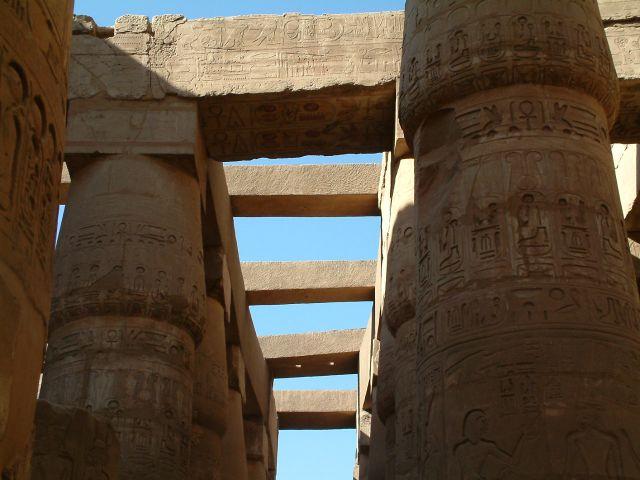 Zdj�cia: Swiatynia, Kolumnada, EGIPT