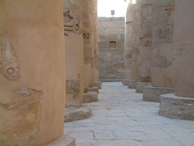 Zdjęcia: Swiatynia, Kolumnada I, EGIPT