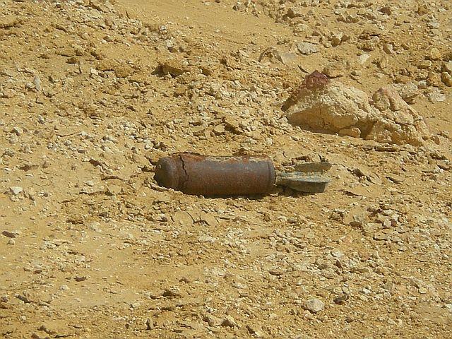 Zdjęcia: W pobliżu depresji Qattara, Pustynia El Alamain, Ślady II wojny światowej , EGIPT