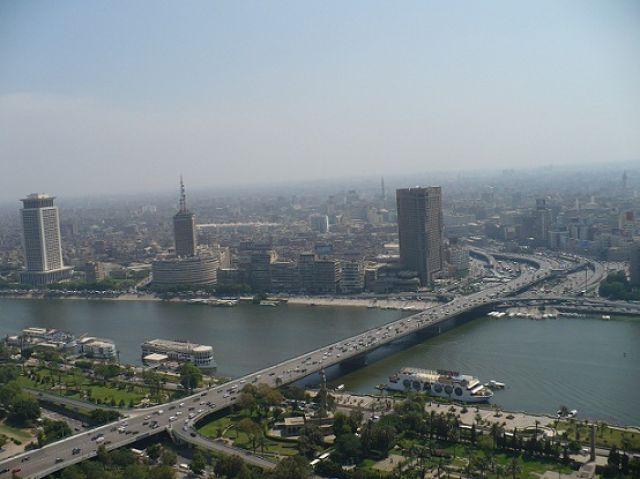 Zdjęcia: Kair, Widok z Wieży Kairskiej, EGIPT