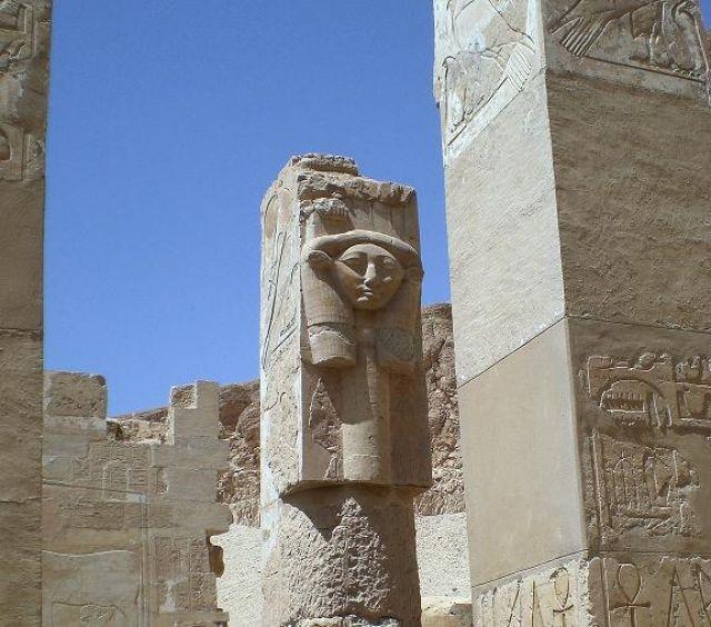 Zdjęcia: Deir el-Bahari, W swiątyni Hatszepsut, EGIPT