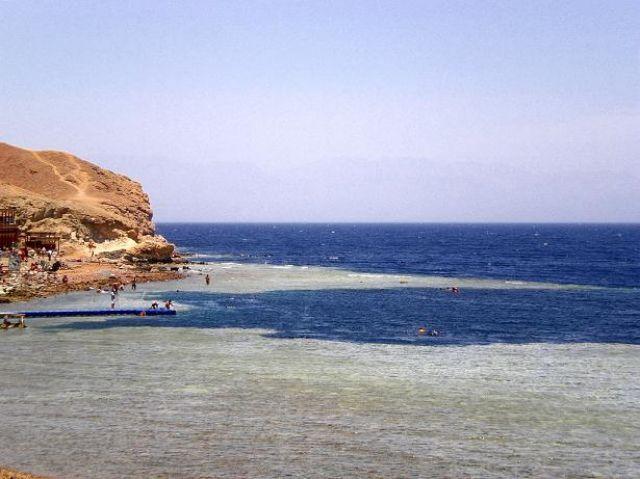 Zdjęcia: Dahab teren rezerwatu Ras Abu Dżallum, -Synaj, Blue Hole, EGIPT