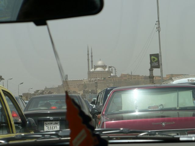 Zdjęcia: Kair, W kairskim korku, EGIPT