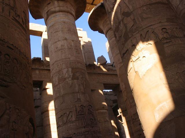 Zdjęcia: Karnak, Świątynia Amona, EGIPT
