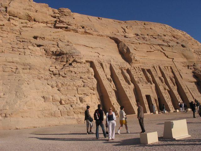 Zdjęcia: Abu Simbel, Świątynia w Abu Simbel, EGIPT