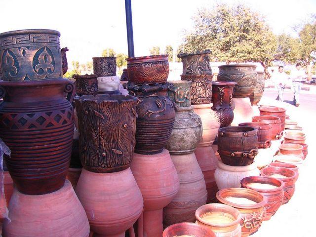 Zdjęcia: Nuwejba, Półwysep Synaj, ceramika, EGIPT