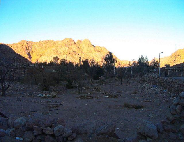 Zdjęcia: Półwysep Synaj, Półwysep Synaj, Góry Synaju w zachodzącym słońcu, EGIPT