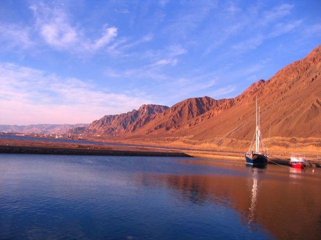 Zdjęcia: Taba, Półwysep Synaj, port, EGIPT
