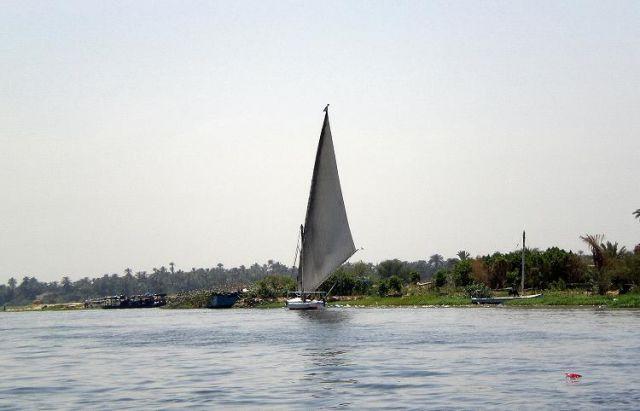 Zdjęcia: Na Nilu, Feluka, EGIPT
