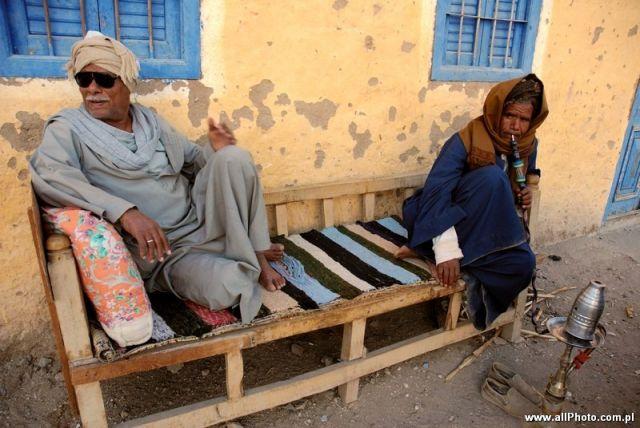 Zdjęcia: Luxor, People of Gurnat Mura'i, EGIPT