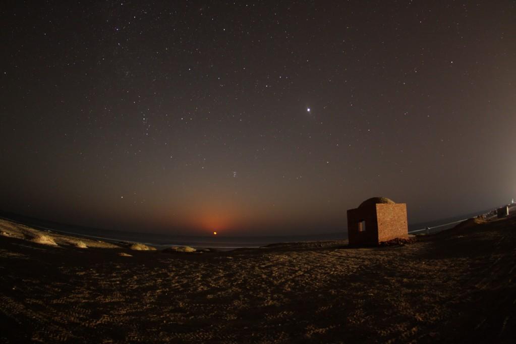 Zdjęcia: Marsa, Marsa ela Alam, Wschód Księżyca , EGIPT
