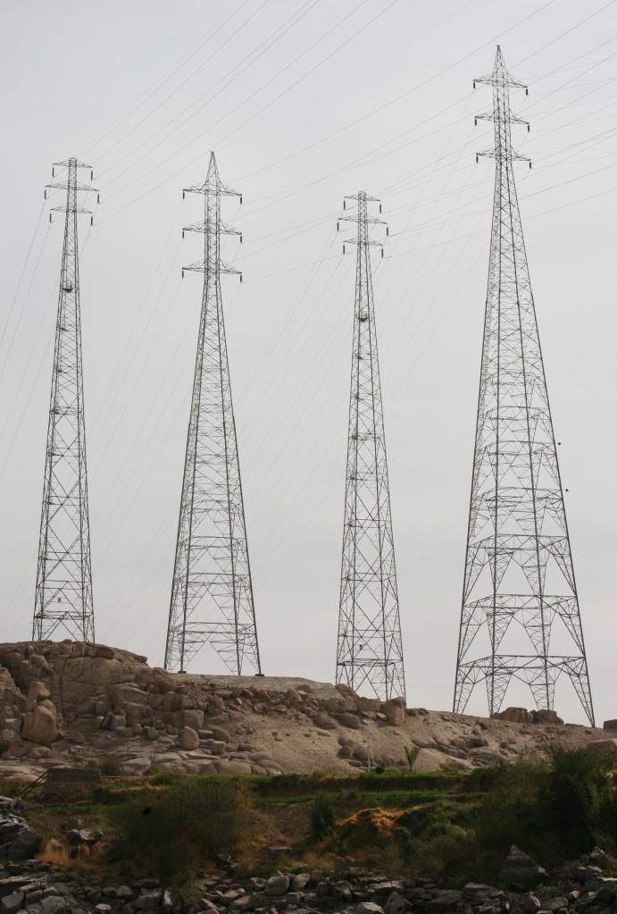 Zdjęcia: Ponad Nilem, Asuan, Energia Asuanu, EGIPT