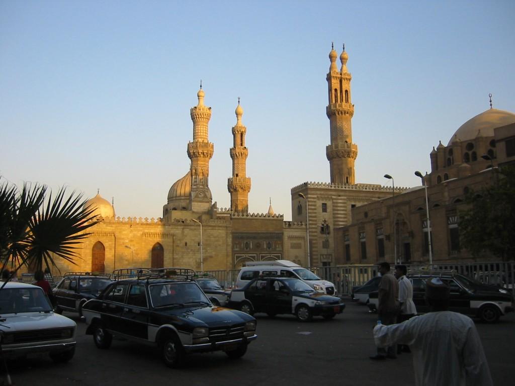 Zdjęcia: Kair, Kair, Kair koło bazaru, EGIPT