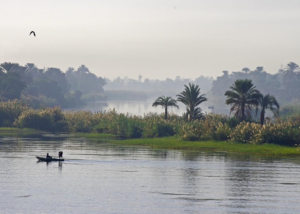 Zdjęcia: Nad Nilem, Środkowy Egipt, Świt, EGIPT