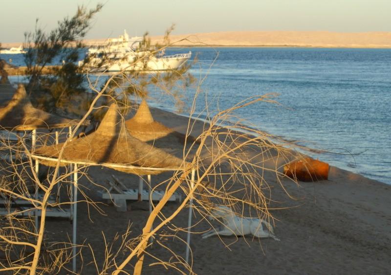 Zdjęcia: Hurghada, Środkowy Egipt, plaża nad morzem, EGIPT