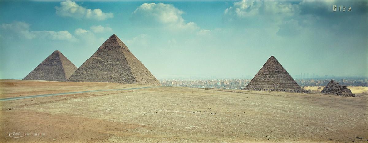 Zdjęcia: Giza, Kair, Piramidy, EGIPT