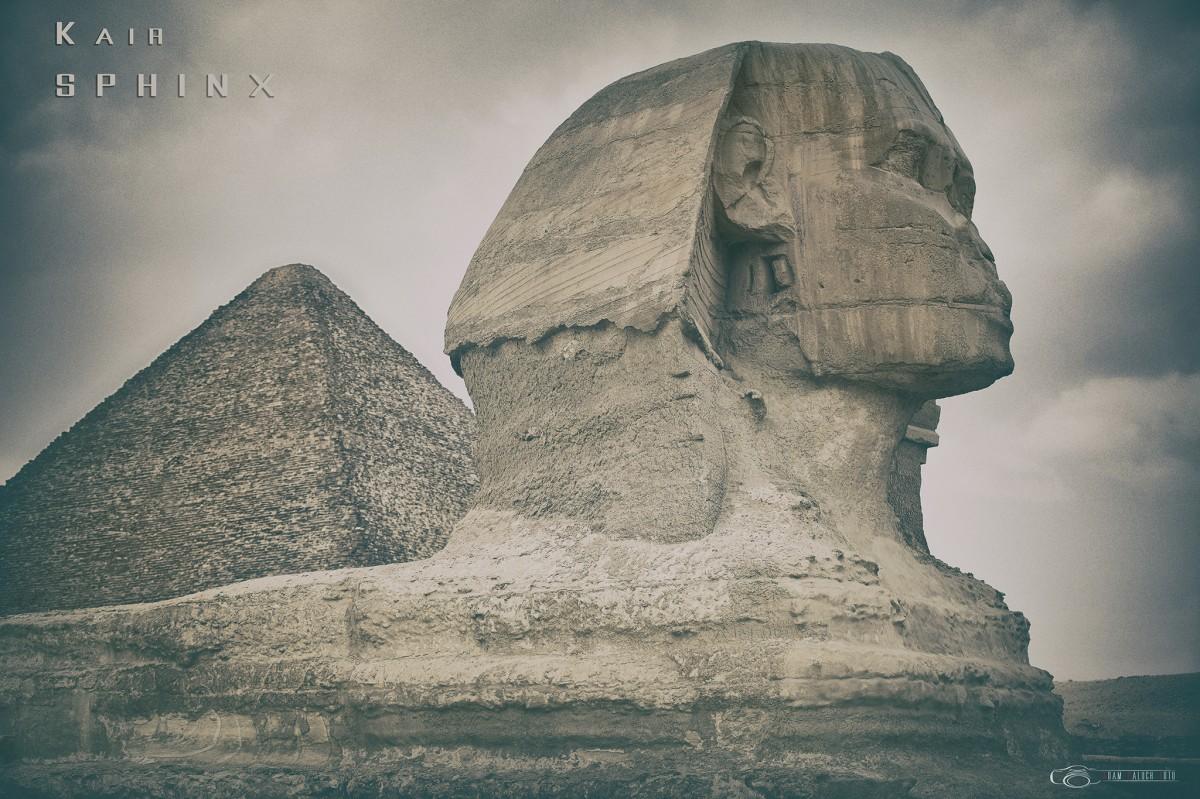 Zdjęcia: Giza, Kair, Spinx, EGIPT