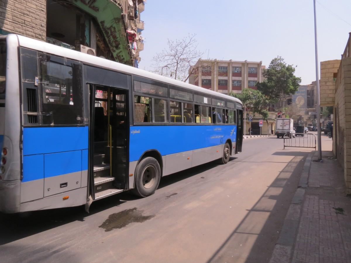 Zdjęcia: Kair, Egipt, autobus miejski, EGIPT