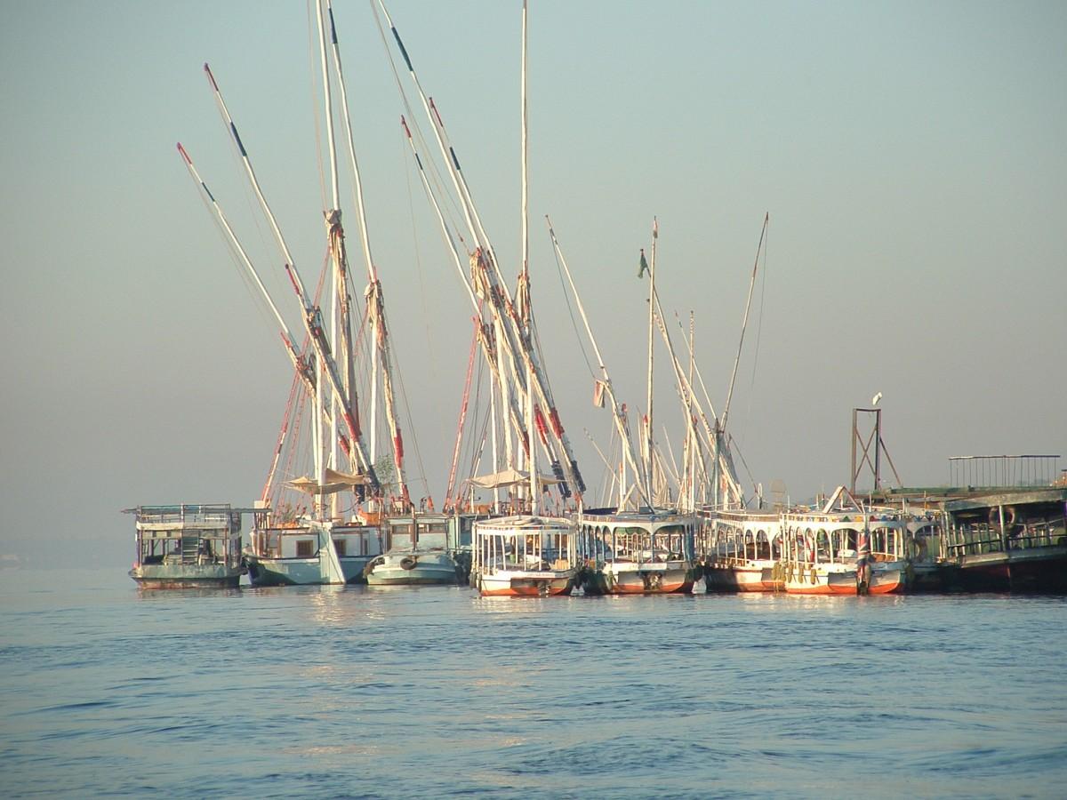 Zdjęcia: Teby, Teby, Na Nilu, EGIPT