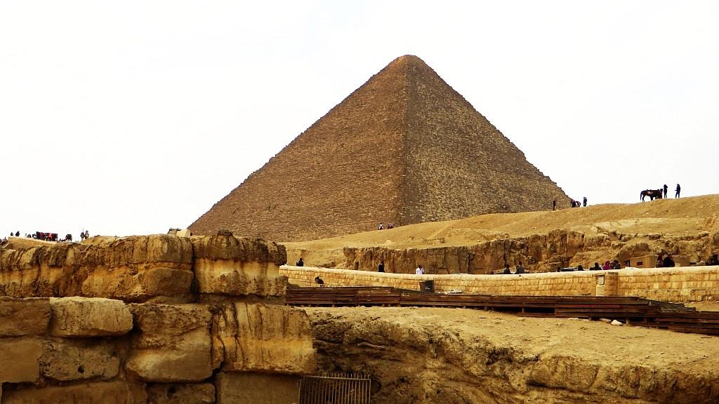 Zdjęcia: Giza, Nekropolia Memficka, Piramida Cheopsa, EGIPT