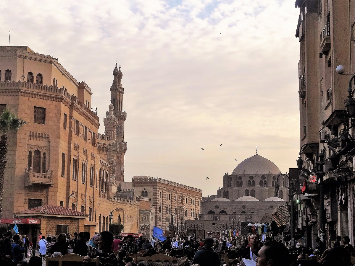 Zdjęcia: fragment starego miasta, Kair, Stary Kair - może zaciekawić, EGIPT