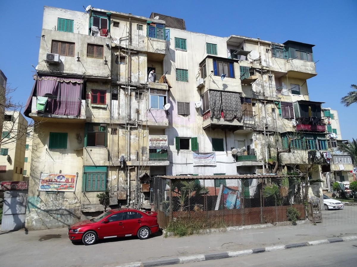 Zdjęcia: Ulica, jakich wiele, Kair, Nowy Kair - nie sposób go polubić, EGIPT