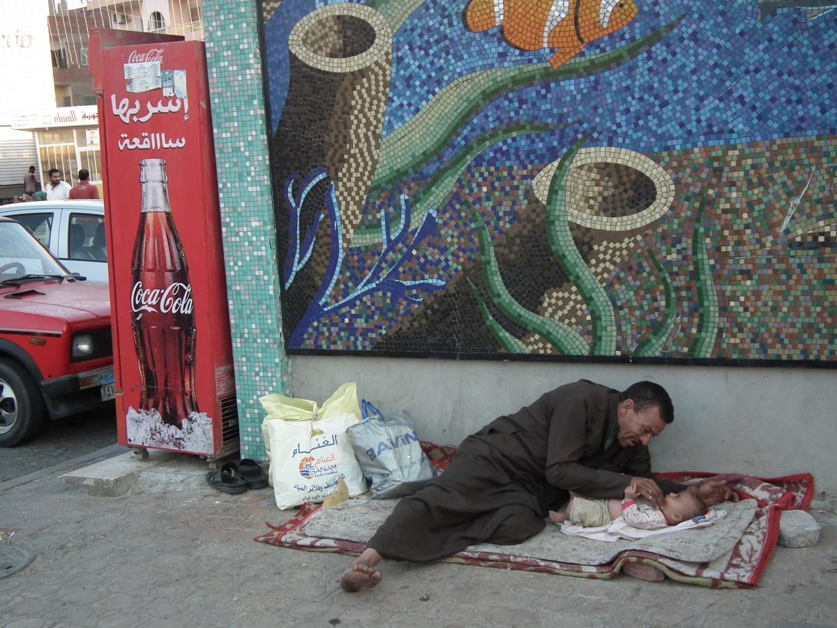 Zdjęcia: Hurghada, Ojcowska miłość, EGIPT