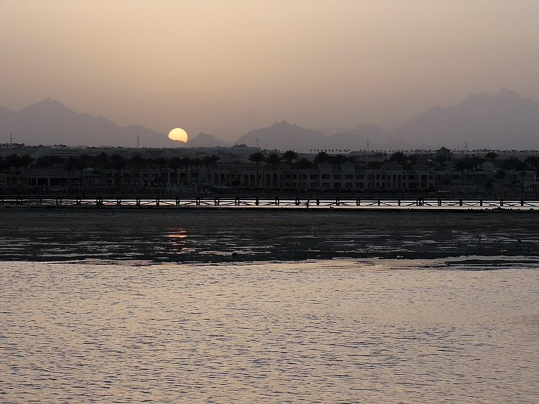 Zdjęcia: Hurgada, Prowincja Morza Czerwonego, o zmierzchu, EGIPT