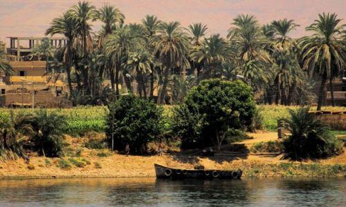 EGIPT / - / Nil / Płynąc do Edfu