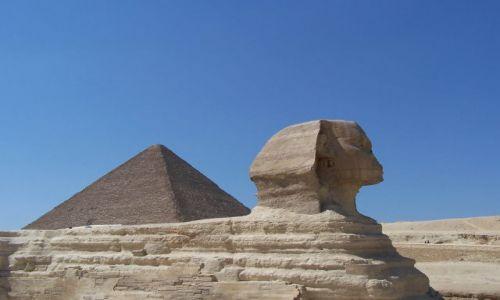 Zdjecie EGIPT / - / giza / sfink