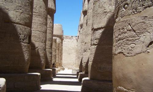 Zdjecie EGIPT / - / karnak / swiatynia karna
