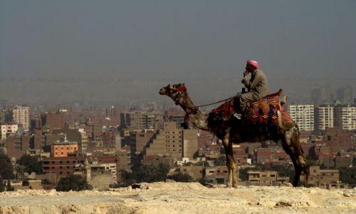 Zdjecie EGIPT / - / KAIR PRZY PIRAMIDACH / XXI wiek?