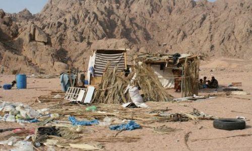 EGIPT / Hurghada / Pustynia / Beduińskie mieszkanie