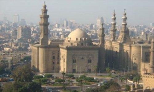 EGIPT / brak / Kair / panorama kairu