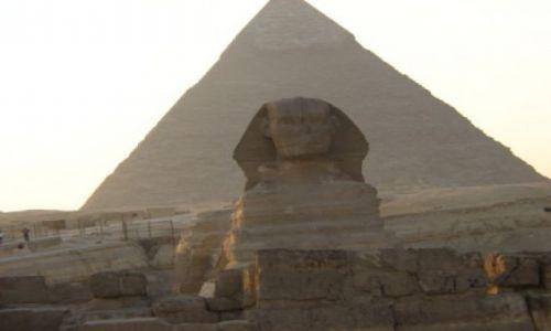EGIPT / brak / Giza / Piramidy, Sfinks