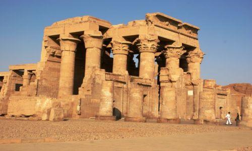 EGIPT / - / Kom Ombo / Świątynia w Kom Ombo