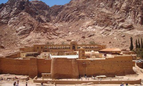 Zdjęcie EGIPT / Półwysep Synaj / Gebel Musa / Klasztor św. Katarzyny.