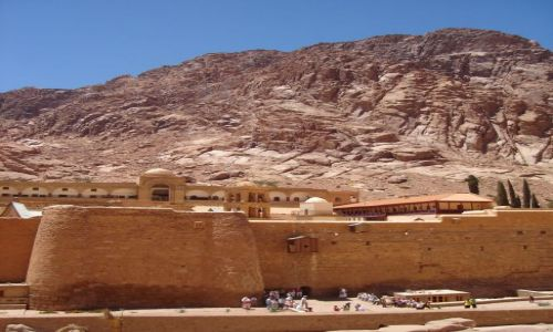Zdjęcie EGIPT / Półwysep Synaj / Klasztor św. Katarzyny / Klasztor św. Katarzyny.