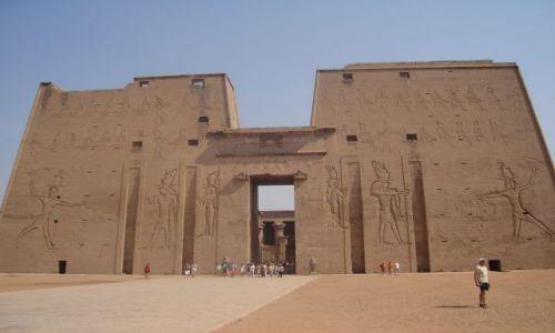 Zdjęcie EGIPT / Środkowy Egipt / Edfu / Świątynia Horusa