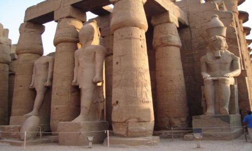Zdjęcie EGIPT / Środkowy Egipt / Luksor / Świątynia w Luksorze