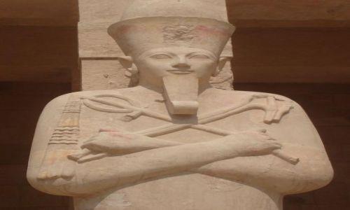 EGIPT / Środkowy Egipt / Teby / Świątynia Deir El - Bahari