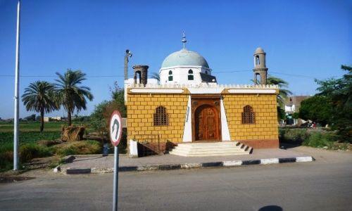 EGIPT / - / Dolina Nlu / Meczet na prowincji