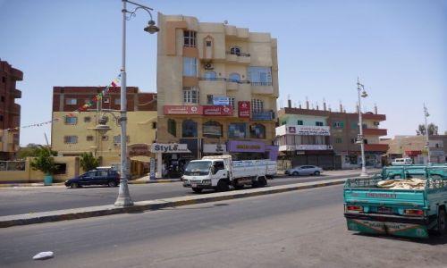 EGIPT / - / Hurghada / ulica