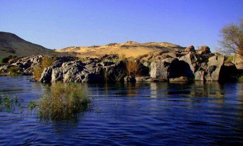 Zdjecie EGIPT / Asuan / Asuan / Gdzieś na Nilu