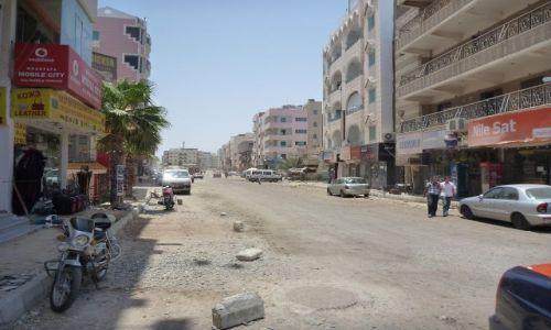 Zdjecie EGIPT / - / Hurghada / ulica