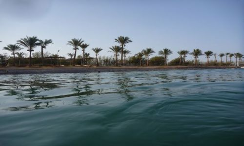 EGIPT / - / Hurghada / Od strony morza