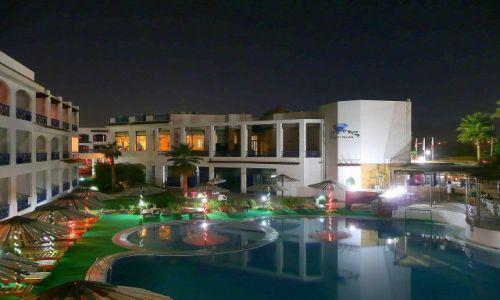EGIPT / Synaj / Sharm el Sheikh / Perła w nocy